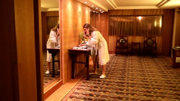 CHINA linda in robe hotel
