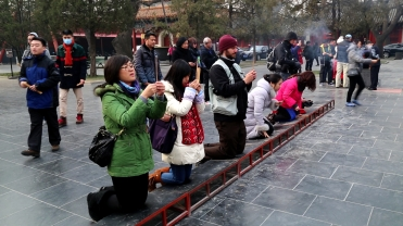 CHINA mark praying